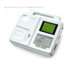 Electrocardiógrafo ECG de 3 canales con Interpretación