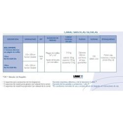 características técnicas cama XXL divisys 140