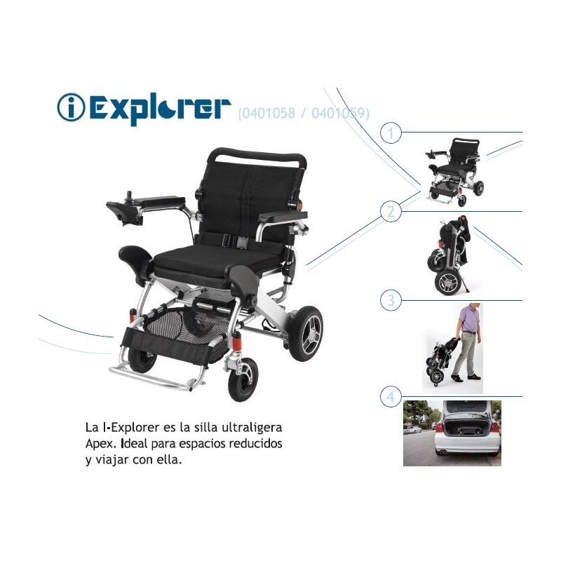 Silla de ruedas eléctrica I-Explorer