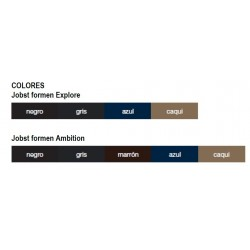 Tabla de Colores Calcetin Jobst ForMen Ambition