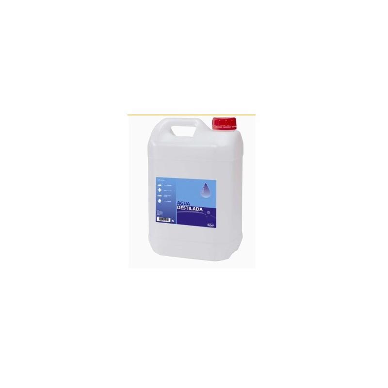 Agua destilada garrafa de 5 litros