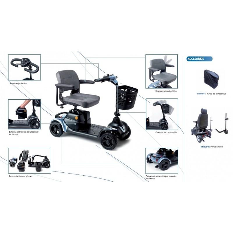 Scooter eléctrico de dimensiones reducidas I-Nano