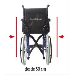 Medidas silla de ruedas super estrecha para ascensor