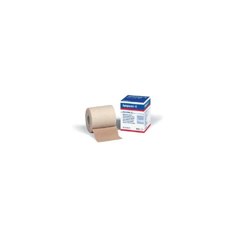 Optiplaste C Venda elástica adhesiva de algodón 8 cm x 2