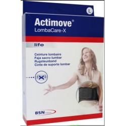 """Faja lumbar en X"""" con estabilizadores Actimove Lombacare X"""