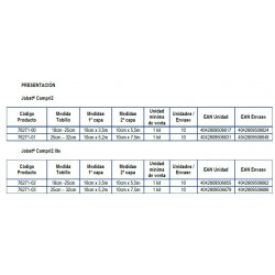Presentaciones Jobst Compri2 Venda de compresión multicapa