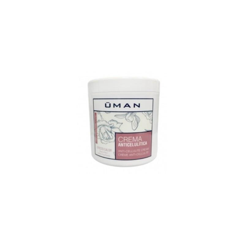 Crema anticelulítica Efecto calor Uman 1000 ml