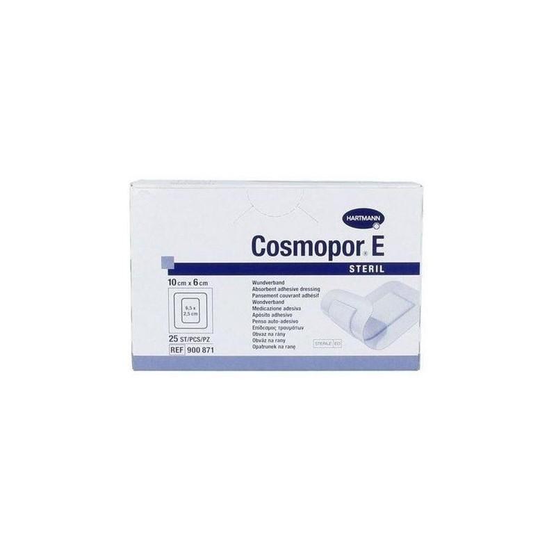 Apósito autoadhesivo estéril Cosmopor E 10x6cm Caja 25 unidades