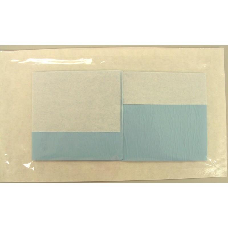 talla plastificada y absorbente esteril 75x80 cm