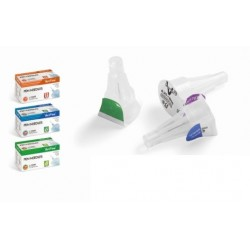 Agujas para pluma de insulina 32G x 4mm C/100 unidades Verifine