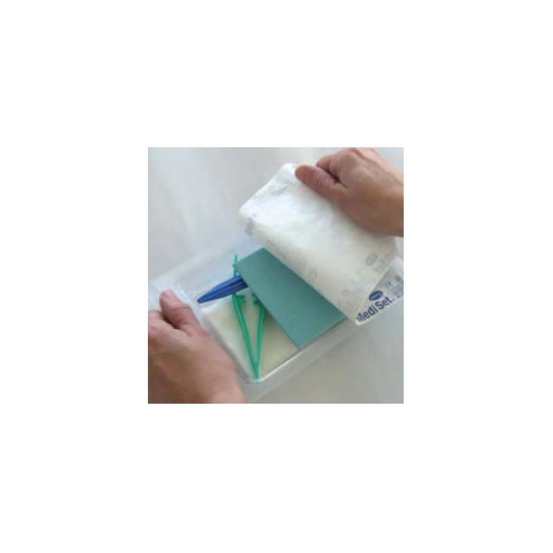 set de curas de un solo uso mediset