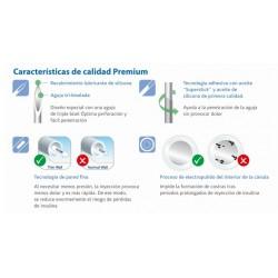 Caracteristicas de las agujas para pluma de insulina Verifine