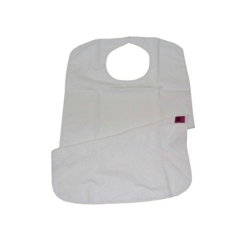 Babero rizo reutilizable 45x75cm con cierre de Velcro
