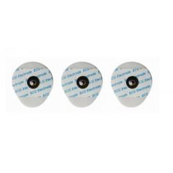 Electrodos adhesivos con corchete ECG 35 x 42 Adulto