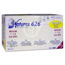 Guante de examen latex sin polvo Naturex 626 Salus