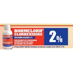 Bohmclorh solucion acuosa al 2%