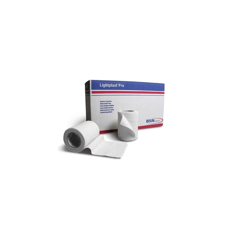 Venda elastica adhesiva de algodon y rasgable Lightplast Pro