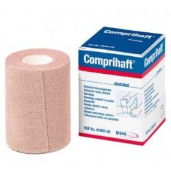 Venda con soporte de tejido elástico cohesiva de algodón Comprihaft Caja 5 unidades
