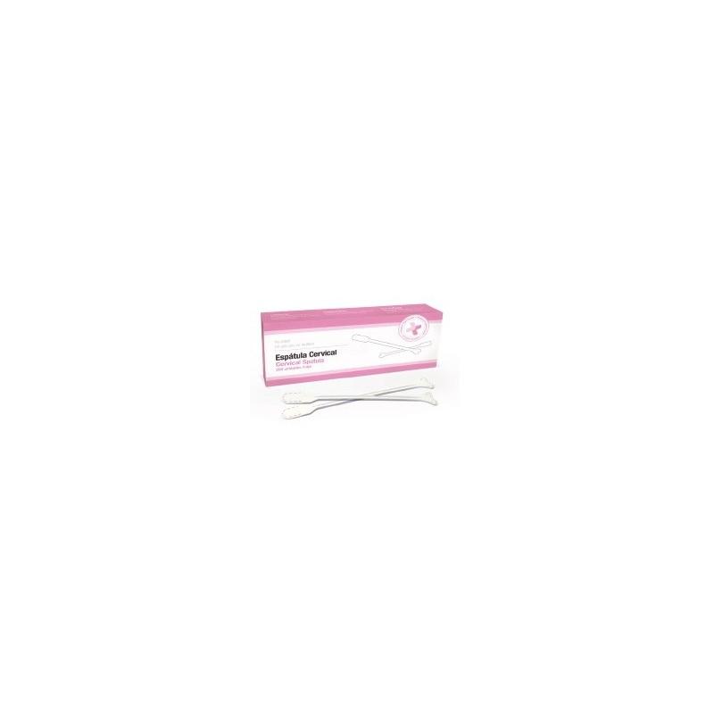 Espátula cervical de plastico caja 200 unidades