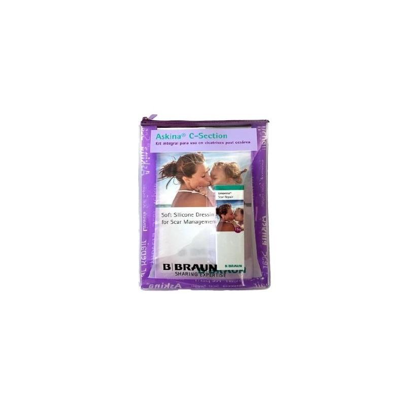 Askina C-Section Kit integral para uso en cicatrices post-cesárea
