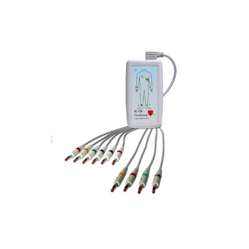 Electrocardiógrafo de Reposo de Altas Prestaciones ECG 12R