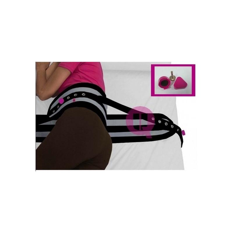 Cinturón abdominal polipropileno para cama de 90 con iman