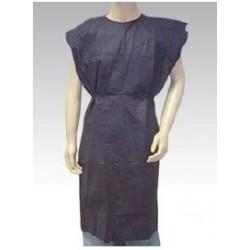 Bata desechable sin mangas tejido sin tejer 30gr Azul oscuro