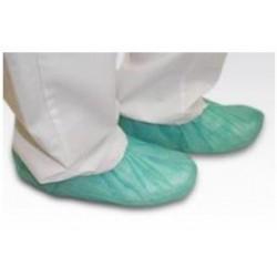 Cubre zapatos tejido no tejido Polipropileno verde 30 gramos Caja 100 unidades