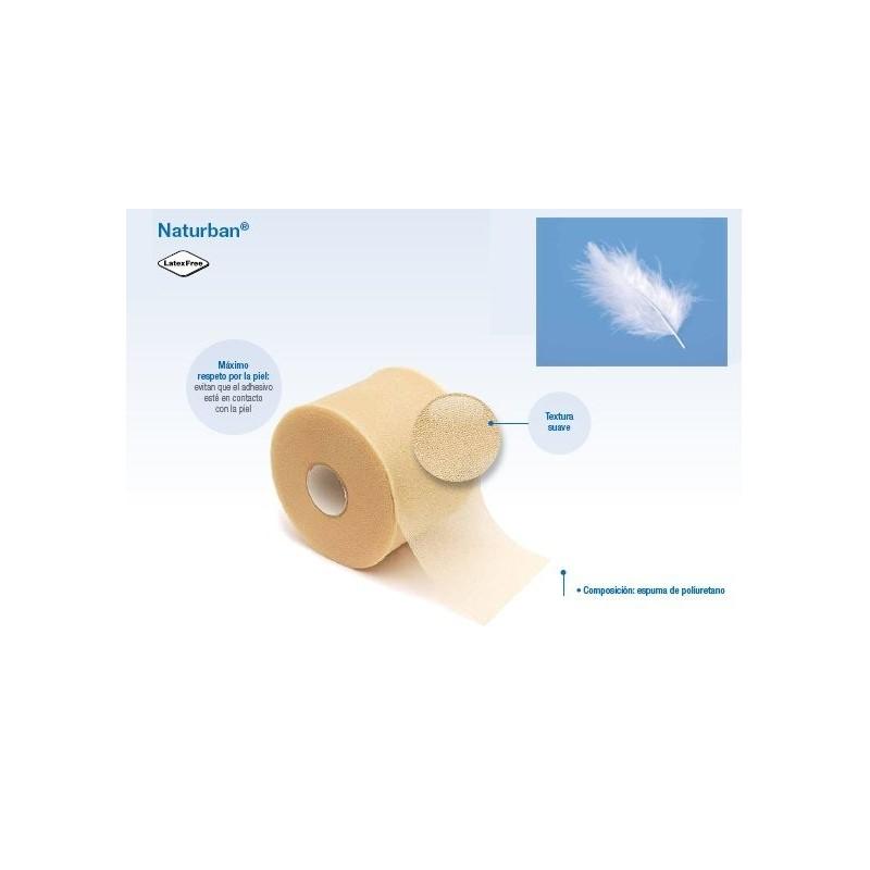 Prevendaje de espuma Naturban 7CM X 20 M