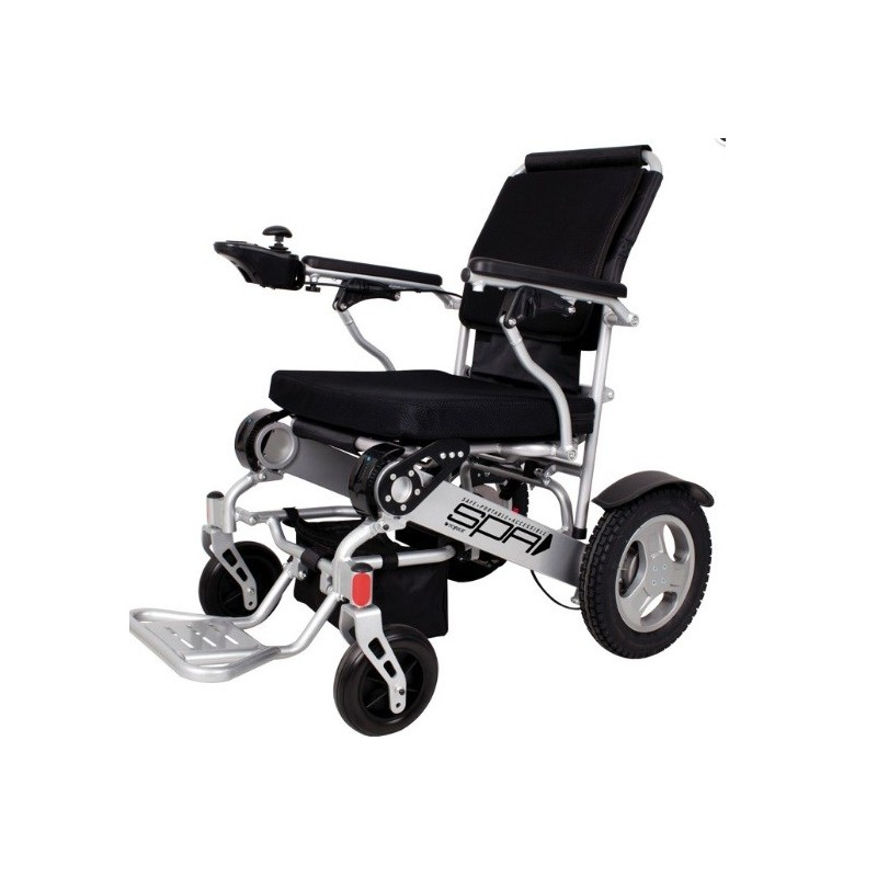 Silla de ruedas de aluminio plegable Spa