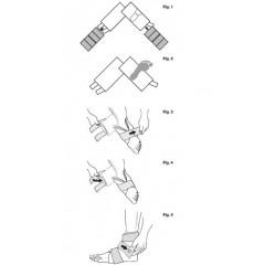 Instrucciones de uso Sistema Crioterapia IceBand para pie y tobillo