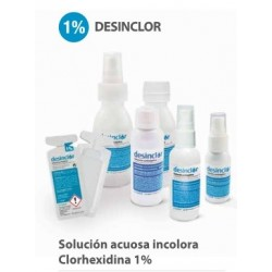 Clorhexidina Acuosa 1% Incolora Desinclor