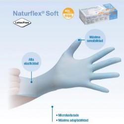 guantes nitrilo s/p NATURFLEX SOFT