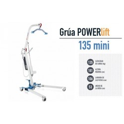 Características Grua powerlift 135 mini