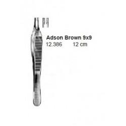 pinza adson browm 9x9 12 cm