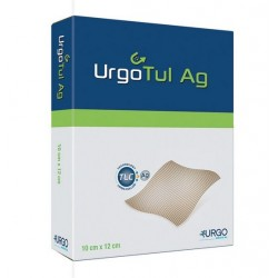 Apósitos Urgotul plata Ag 15x20