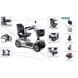 Scooter eléctrico I-Tauro con accesorios
