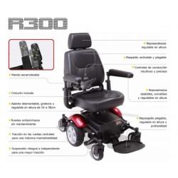 características de silla de ruedas eléctrica R300