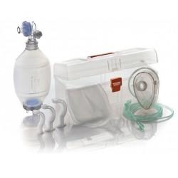 maleta con kit resucitador para adultos