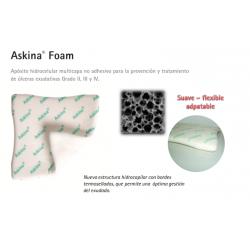 Características Askina Foam hidrocelular multicapa
