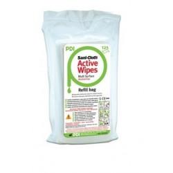 Toallitas desinfectantes de superficie sin alcohol Sani-Cloth Active Wipes Recambio 125 toallitas