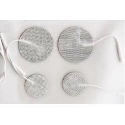 Electrodos adhesivos gelificados para TENS y EMS. 32 mm diámetro