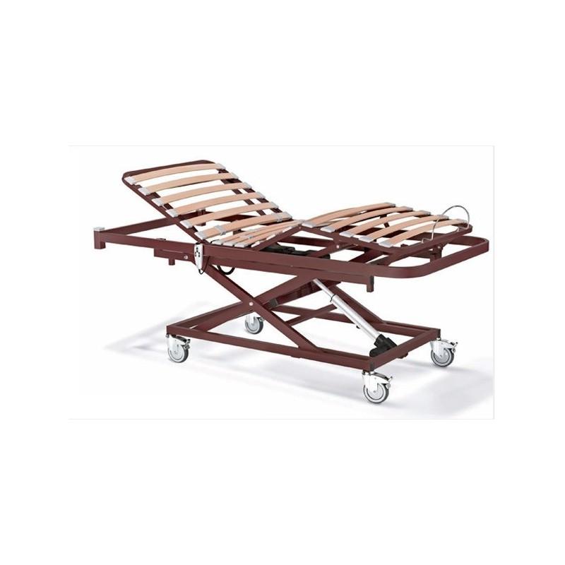cama articulada con carro elevador nules-plus