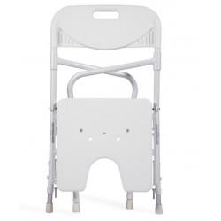 silla de baño Acuario plegable