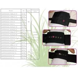 tabla medidas de cinturones de cama
