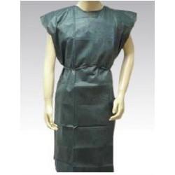 Bata desechable sin mangas tejido sin tejer 50gr Verde oscuro