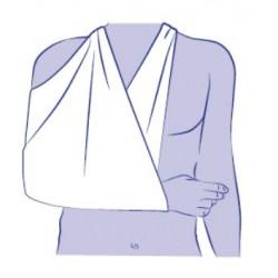 Vendaje triangular para inmovilizacion de hombro