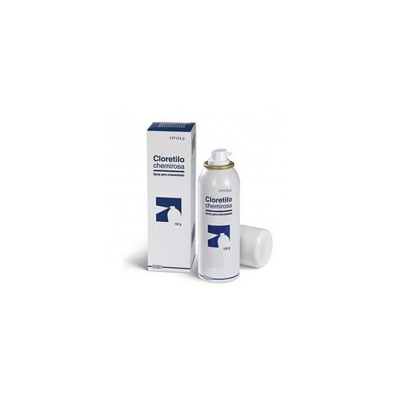 CLORETILO CHEMIROSA Spray para crioanestesia local en piel intacta
