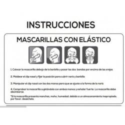 Instrucciones de uso Mascarillas