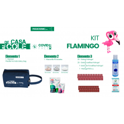 Kit Flamingo anticovid...